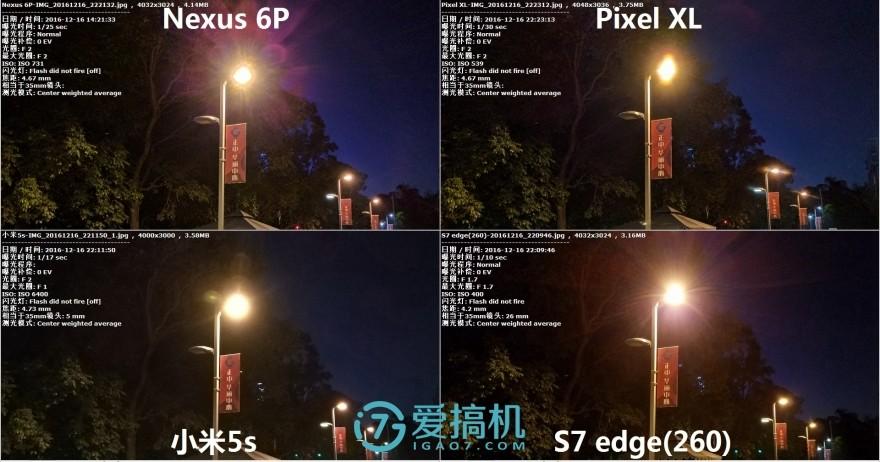 谁能拍出最真的照片?小米5s/三星S7 edge/Pixel XL/Nexus 6P拍照对比评测