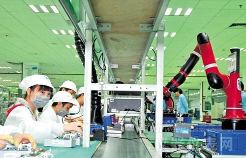 机器人造智能电表 产品质量提升50%