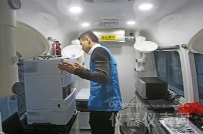 深圳引进食品检测车 填补食品安全快速移动检测领域空白