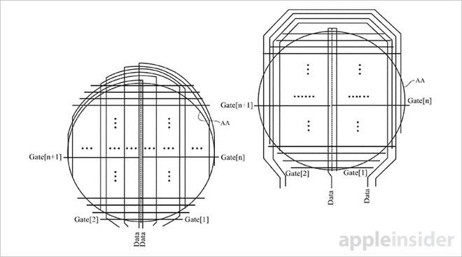 专利文件显示苹果曾研发圆形屏幕智能手表