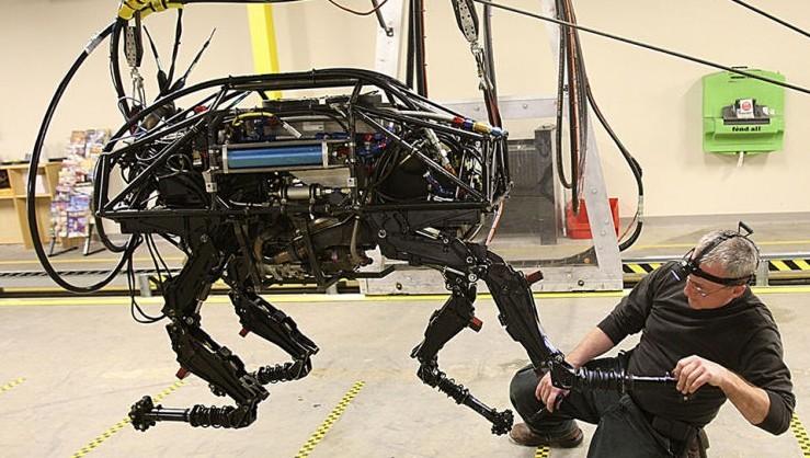 美国大狗机器人中的传感器技术运用