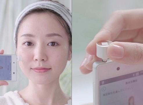 """佳丽宝推出手机用""""肌肤水分传感器"""""""