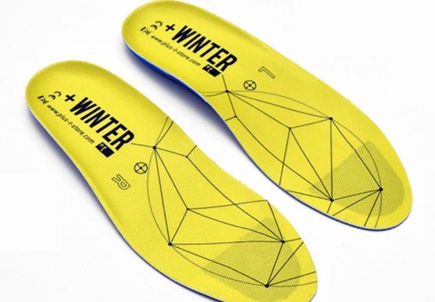 智能加热鞋垫让你双脚暖呼呼