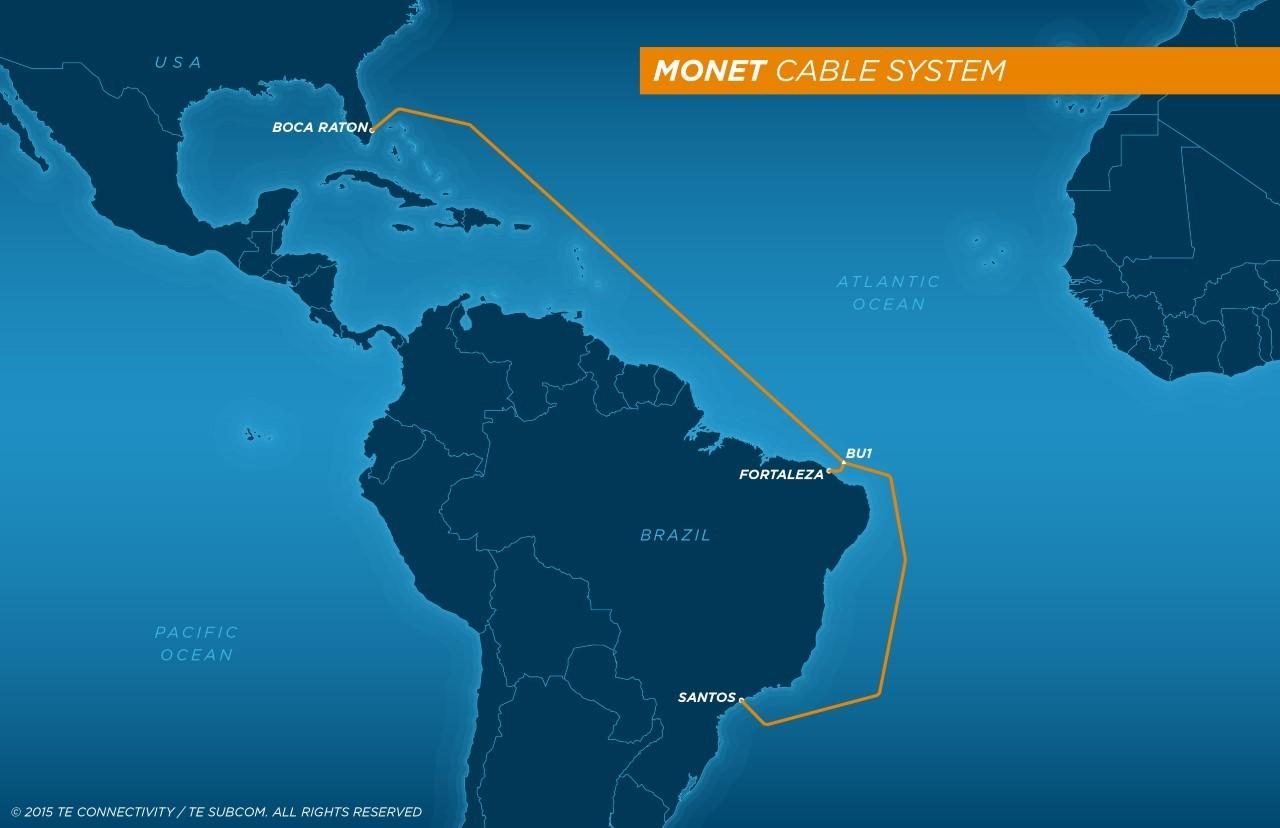 美国-巴西海底光缆系统将延迟至2017年完工