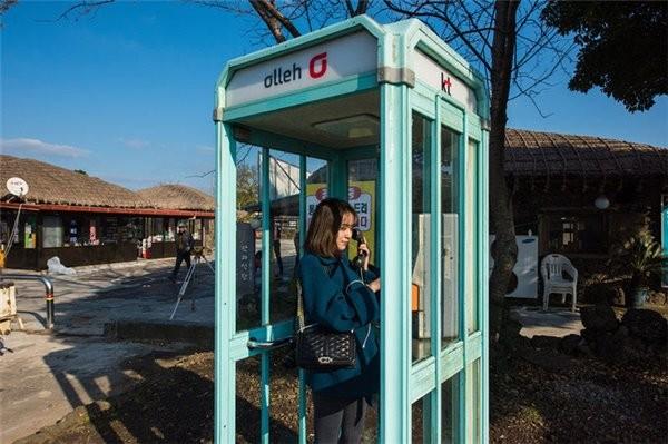 韩国宣布逐渐淘汰公用电话 到2020年数量减半