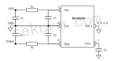 安装灵活的12位三轴霍尔角度传感器MLX90360 助力无人机电动云台设计