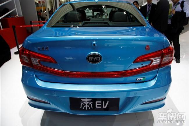 比亚迪3款纯电动汽车即将推出 秦EV e5 新e6高清图片