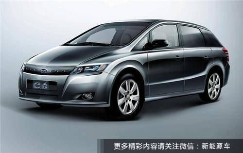 四大国产主流纯电动车:比亚迪e6领衔 媲美BBA