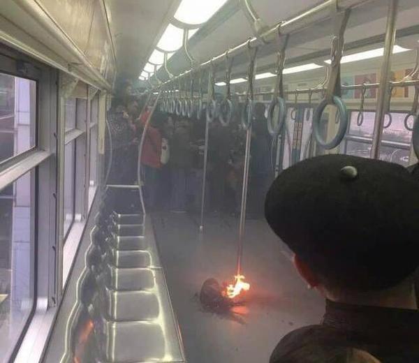 重庆轻轨3号线发生蓄电池爆炸事故