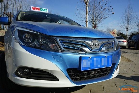 首测:比亚迪E5纯电动汽车 满足期待