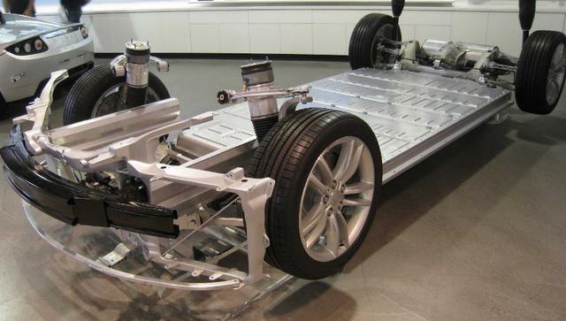 技术 关于电动汽车底盘的革新过程高清图片
