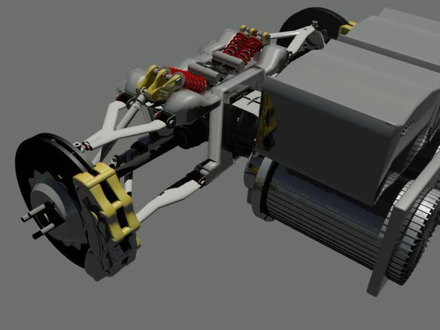 技术:关于电动汽车底盘的革新过程