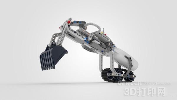 设计师用3d打印开发出兼容乐高积木的儿童义肢
