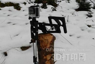 GoPro 3D打印稳固支架成功众筹上万元