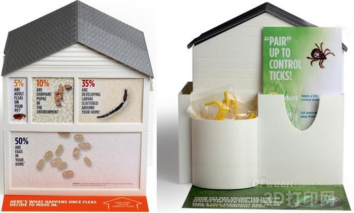 动物药巨头硕腾用3D打印模型宣传预防跳蚤