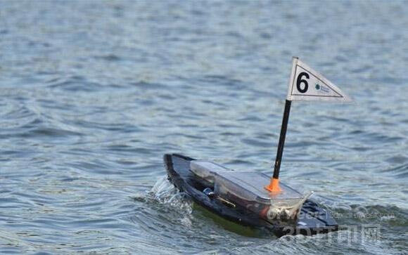 3D打印水上机器人 搜救侦查监测好帮手