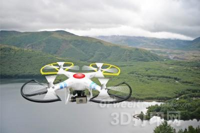 3D打印无人机或将成未来灾后救援主力军