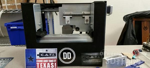 美国海关查处一起3D打印枪走私案