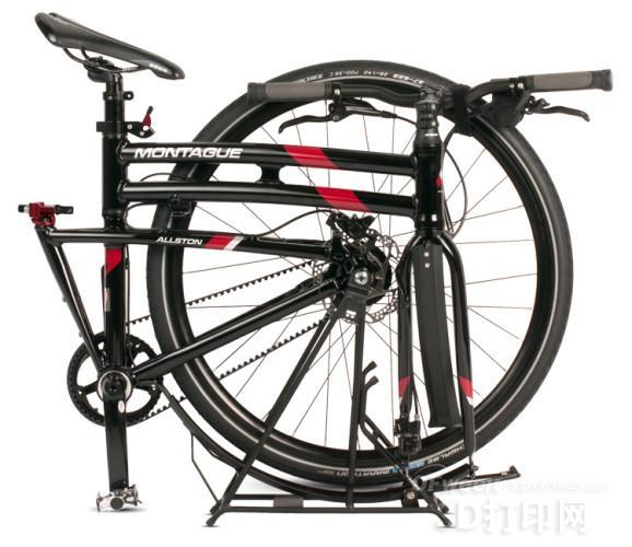Montague公司使用3D打印设计开发折叠自行车
