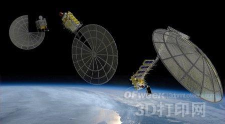 太空资源开发---3D打印太空调查船