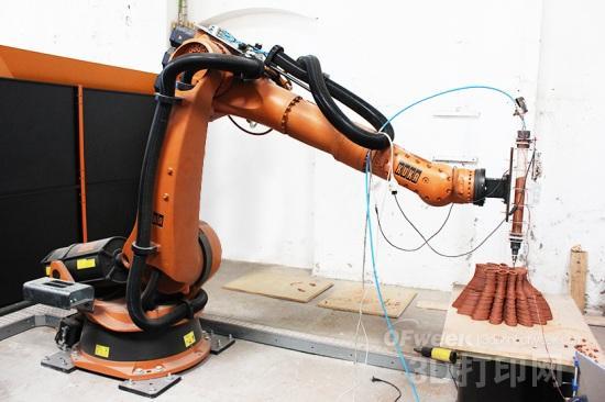 空间制造系统---3D打印机+机械臂