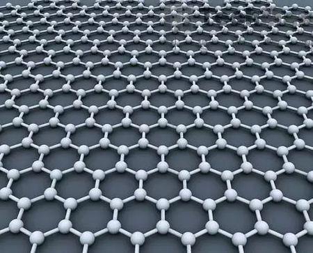 石墨烯原子结构示意图