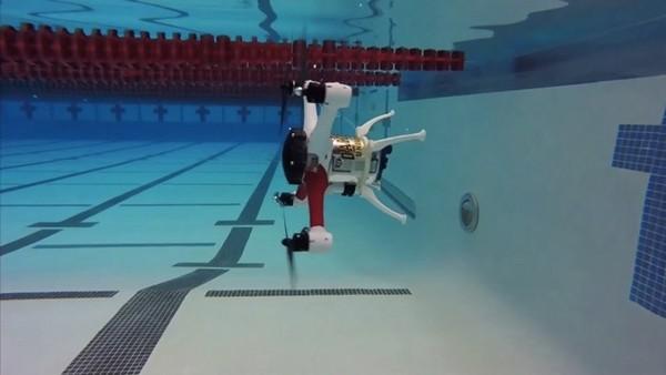 这款无人机上山下海无所不能