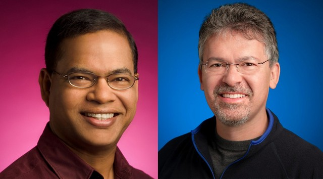 左Amit Singhal,右John Giannandrea
