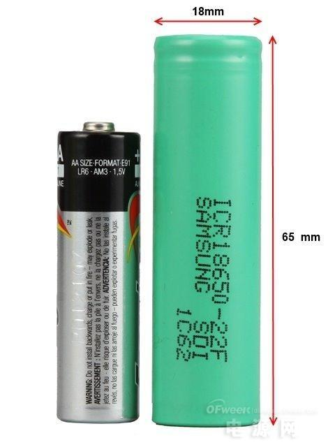 18650锂电池与移动电源的关系