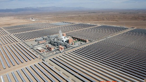 摩洛哥noor1槽式光热电站正式投运【图】