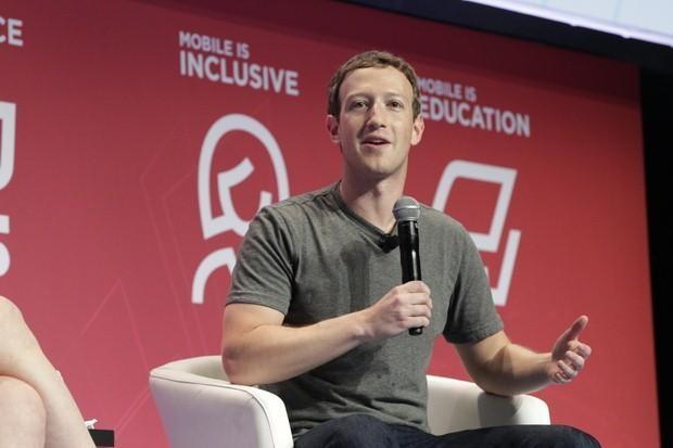 Facebook首席执行官马克•扎克伯格