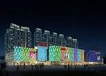 东莞长安万达广场:凹凸立体金属极致诠释建筑化照明