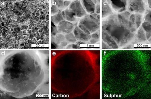 中科院:高性能锂硫电池研究获进展