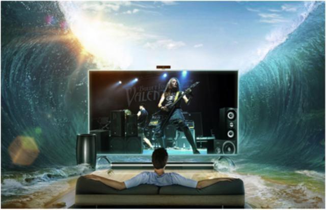 """业内专家普遍认为,2016年将成为电视产业的""""音质年""""。中国电子视像行业协会副秘书长彭健锋分析称,音效将成为2016年彩电产品的差异化卖点,高保真音箱等配置将受到市场的热捧——这意味,用户对于电视产品音质的要求已经达到了历史最高点,而毫无疑问,只有乐视分体电视超4 Max70才能够满足大众对于音质的高要求。"""