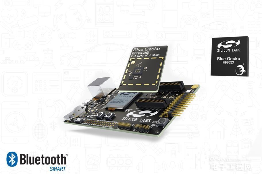 Silicon Labs用节能的SoC和软件解决方案开展Bluetooth Smart连接