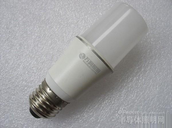 万润照明5W LED灯拆解 看看质量若何?