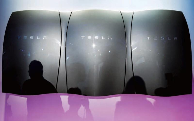 Tesla能源墙