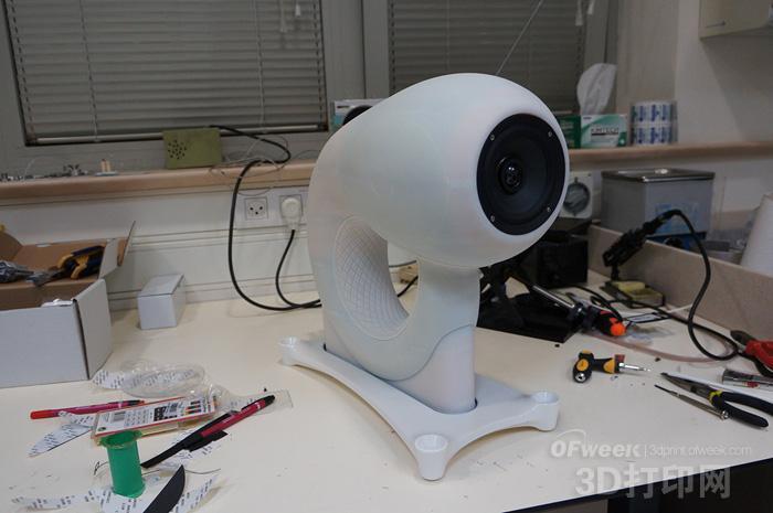 创新设计的3D打印音箱Aleph1解决回波失真问题