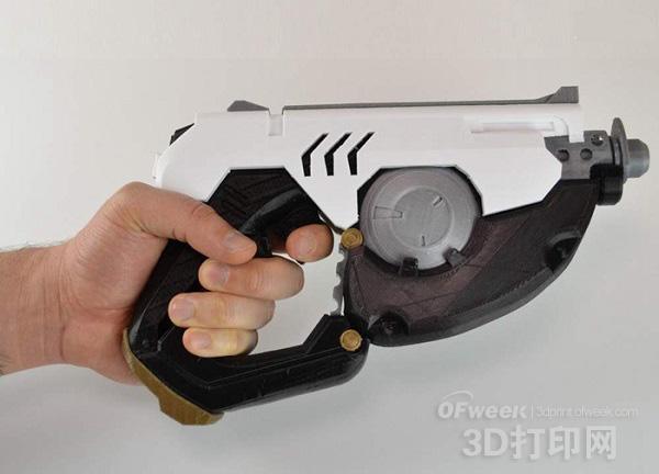 3D打印暴雪新游《守望先锋》猎空者脉冲枪