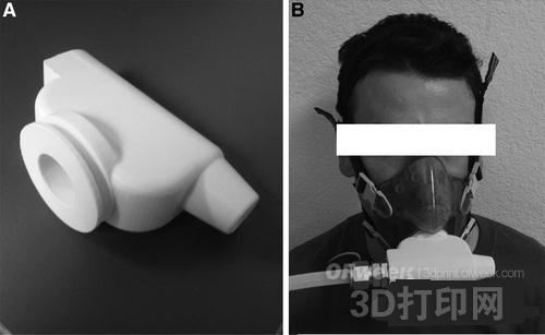 加州大学研发3D打印气体传输器 用于肺部核磁共振