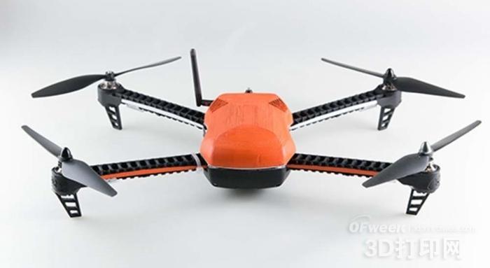 3DRobotics免费发布IRIS+无人机的可3D打印设计