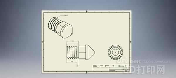 强大的钨质3D打印机喷嘴即将推出