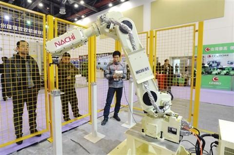 13届苏州国际工业博览会现场