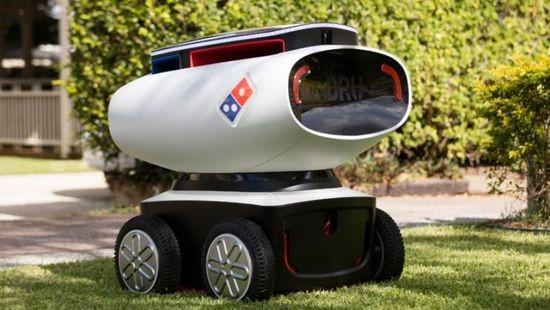 这台融合多个军工级技术的机器人被用来送披萨