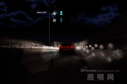荷兰公路夜晚自己发光让传统路灯下岗