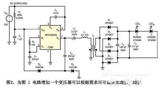 深入解析CFL镇流器IC驱动LED应用电路