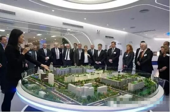 德国联邦议员和市长莅临国星光电参观考察