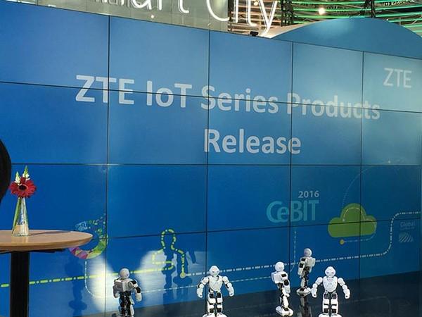 中兴发布了一款既是4G/5G基站也是充电桩的智慧路灯