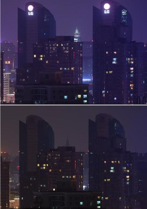 """关注""""地球一小时"""" 全球地标建筑熄灯前后对比"""