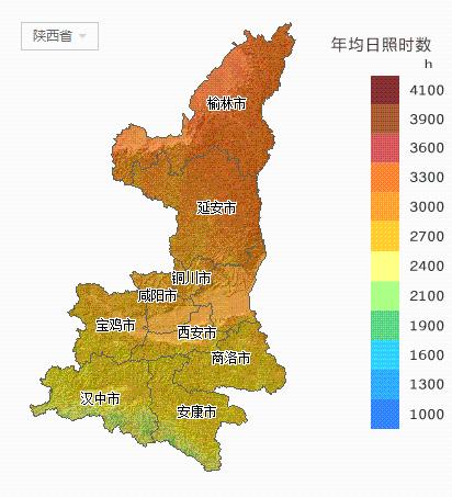阳能资源分布地图汇总